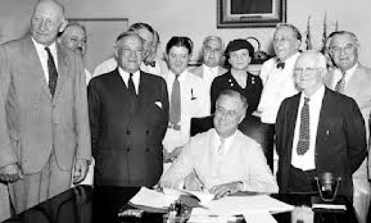 Roosevelt - new deal 1