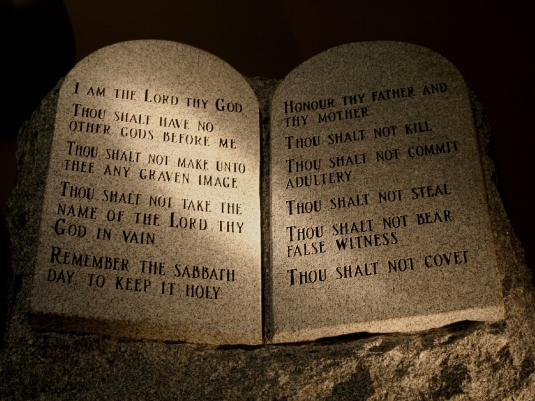 the 10 Commandments - reframed 1a