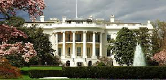 the White House - stretched