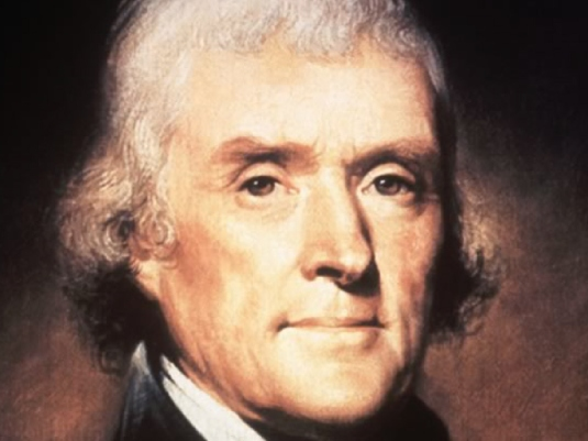 Thomas Jefferson - portrait 1