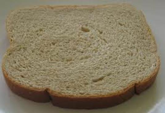 a slice of bread 1