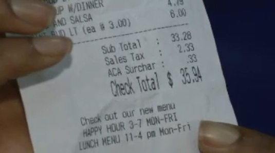 ACA surcharge - Obamacare