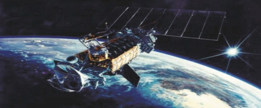 communications satellite 1