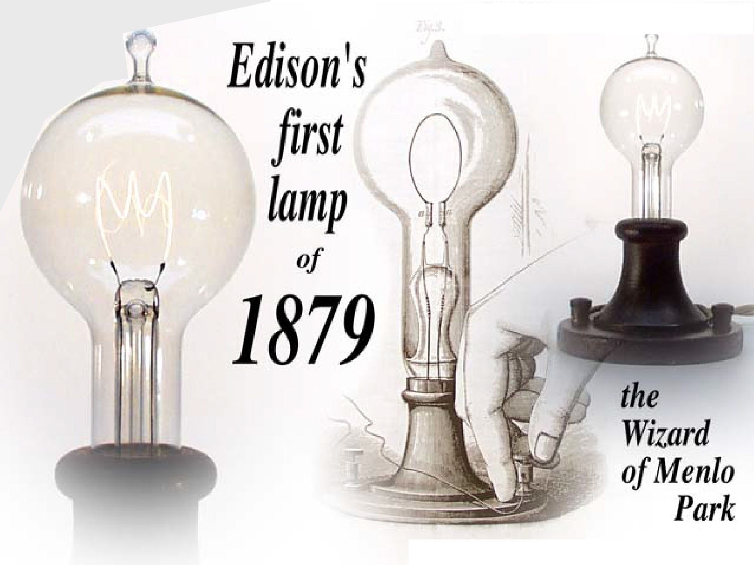 Invention Of The Light Bulb Thomas Edison Images
