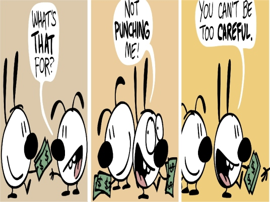 extortion cartoon 1