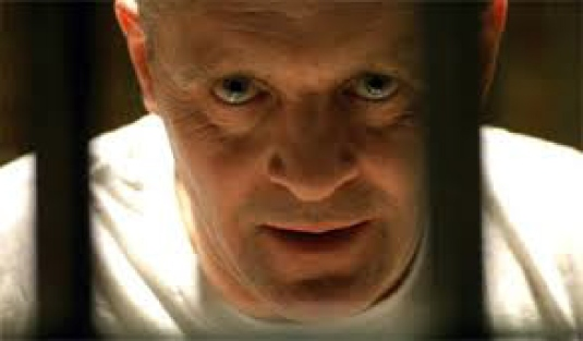 Hannibal Lecter behind bars