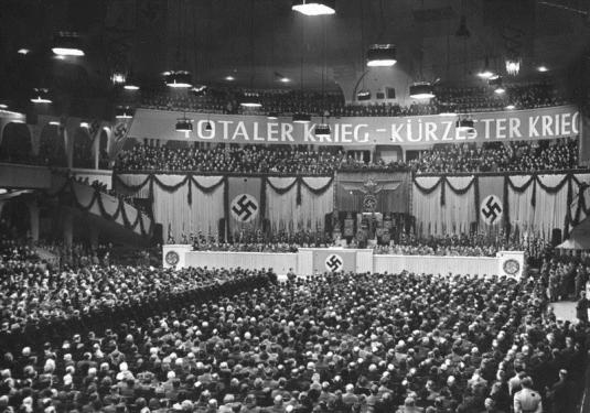 Hitler campaigning - white peop