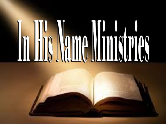 in his name ministries - graphi