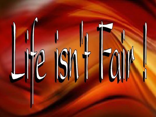 life isn't fair - page break 1a