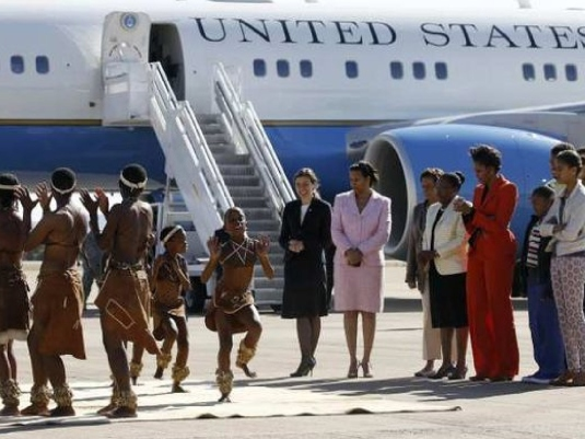 Michelle in Africa 5