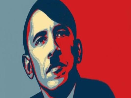 Obama Hitler graphic 1