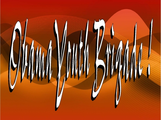 Obama youth brigade 1a