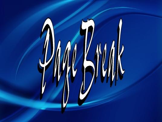 page break - blue wave 2a