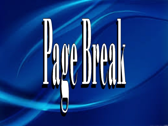 page break - poster blue 1