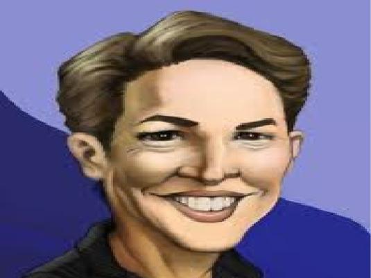 Rachel Maddow - caricature 1a