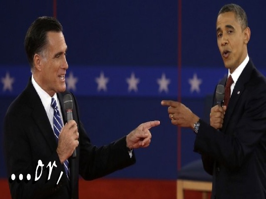 Romney and Obama - or 1a