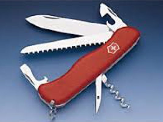 Swiss Army pocket knife 1a