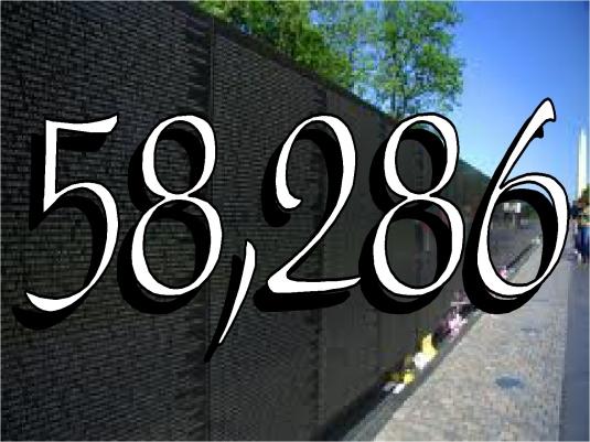 Vietnam Memorial - graphic