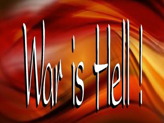 war is hell - page break 1