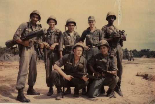 weapons squad, Vietnam 65