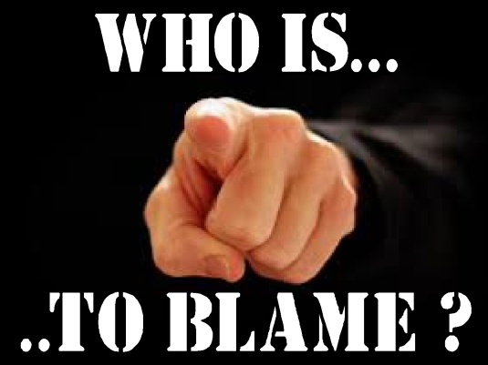 who is to blame 1a
