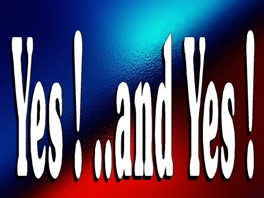 yes and yes 1