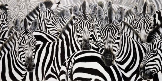 zebras personified 2