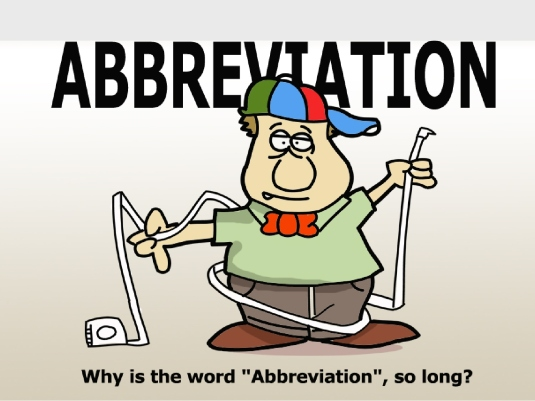 abbreviation - graphic 1