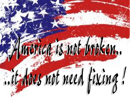 America is not broken 2a
