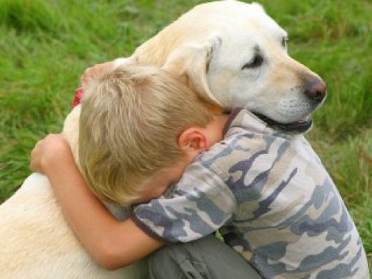boy and dog 1a