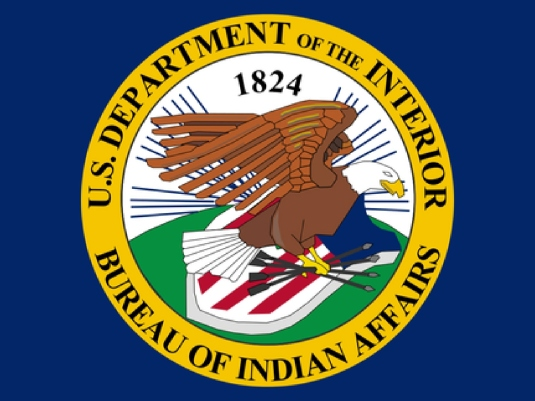 Bureau of Indian affairs - flag 1a