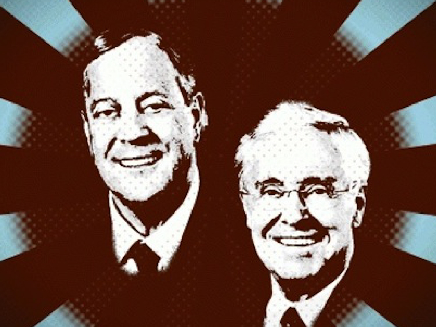 Op ed the billionaires bankrolling the tea party party for David und charles koch