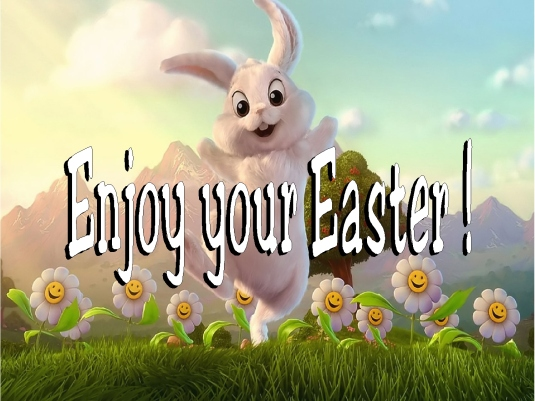 Enjoy your Easter 1