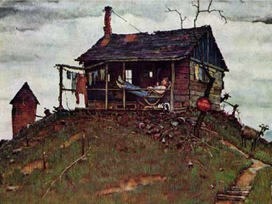 Norman Rockwell - house 1a