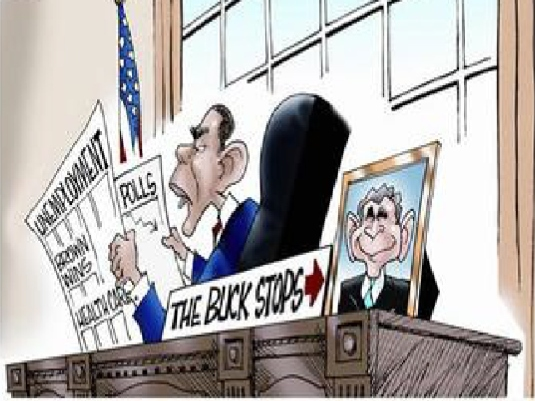 Obama - the Buck  stops here 1a