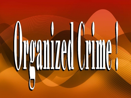 organized crime - graphic