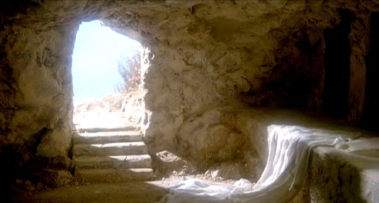 resurrection - empty tomb 2