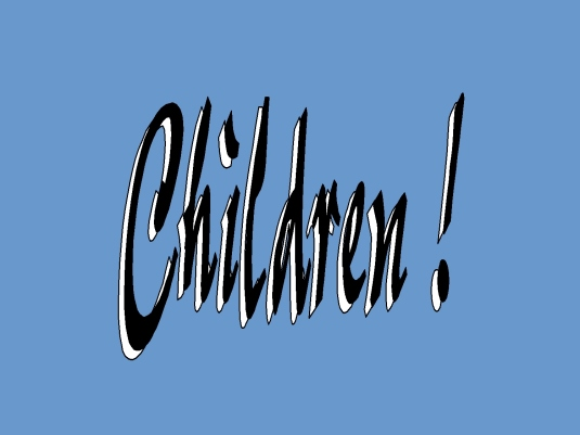 children - PB blue