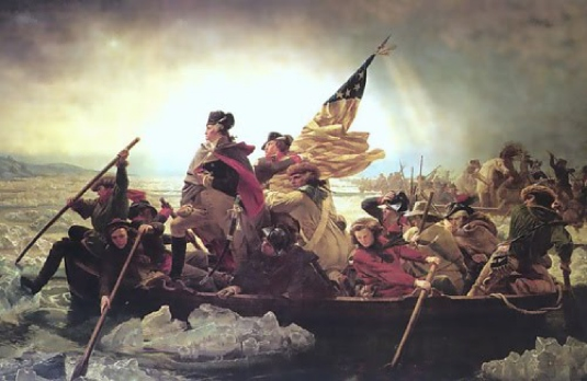 crossing the Delaware 1