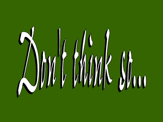 don't think so - page break