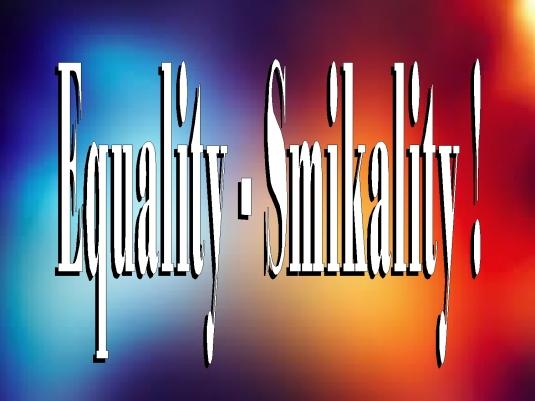 equality - smikality