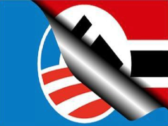 Hitler and Obama Logo 1a