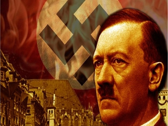 Hitler and swastika 1