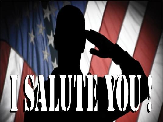 I salute you 1a