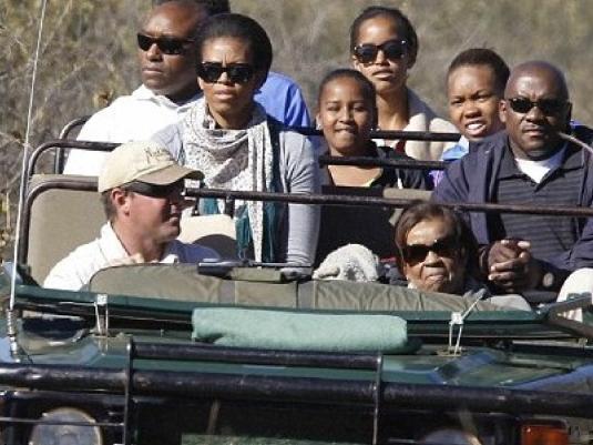 Michelle on Safari 3