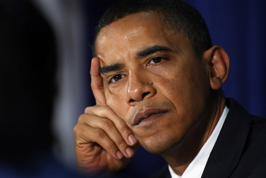 Obama - consternation 1