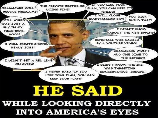Obama said 1a