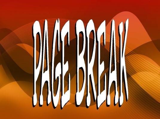 page break - lies
