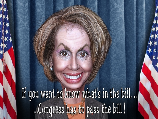 Pelosi - pass the bill 2