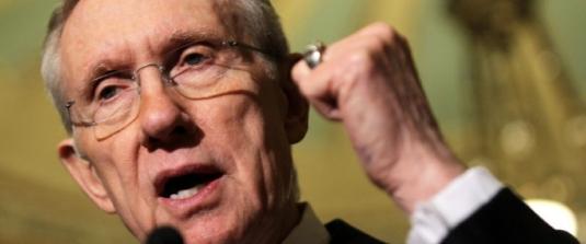 Senate Majority Leader Harry Re